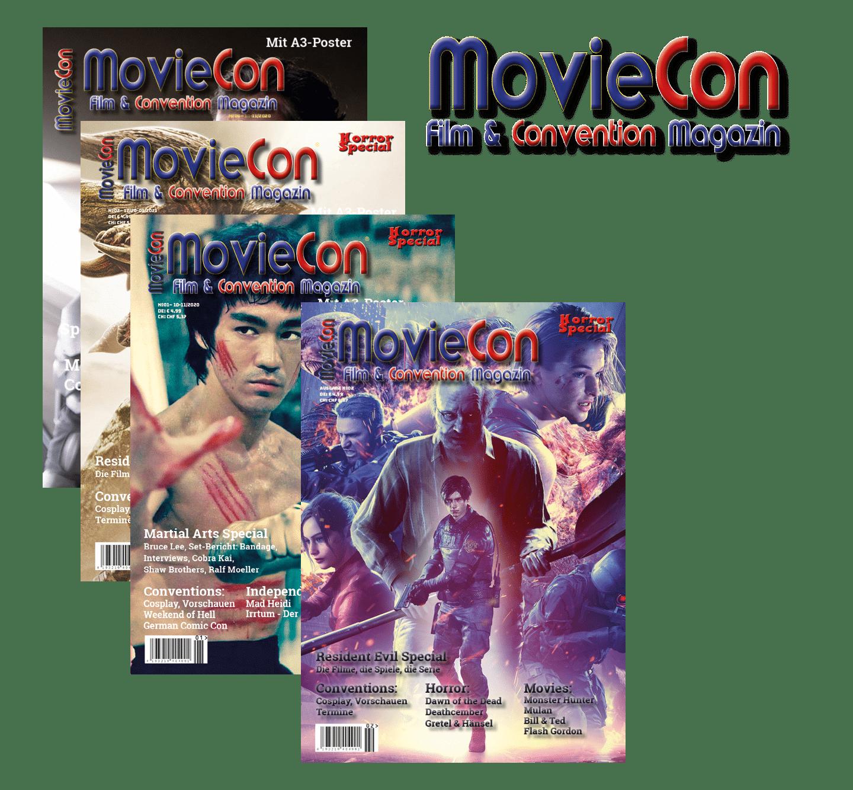 MovieCon: Film- & Convention Magazin Print-Ausgabe Jahres-Abo 6 Ausgaben