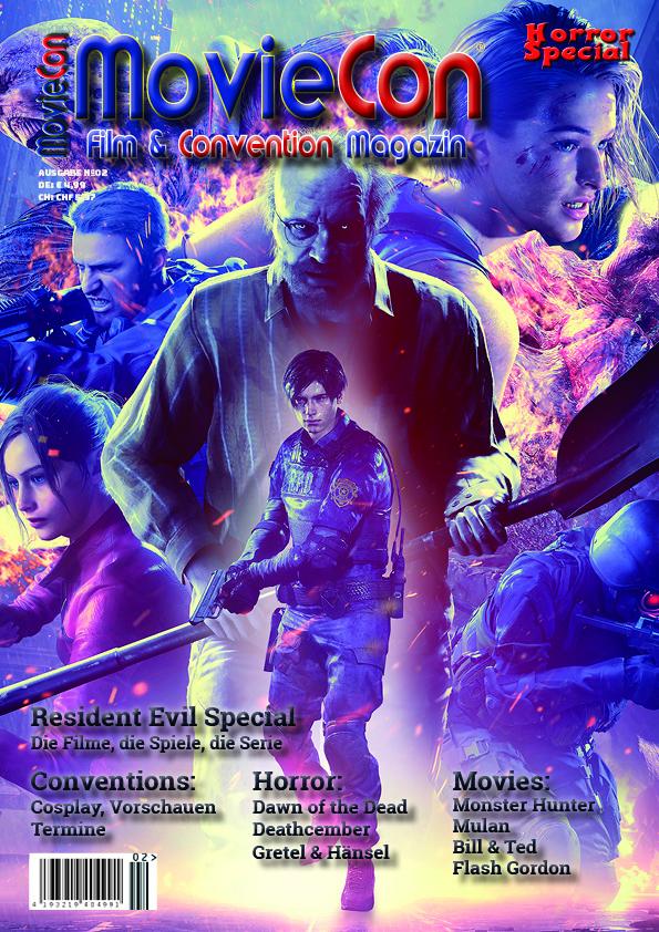 MovieCon- Film- & Convention Magazin Ausgabe 2