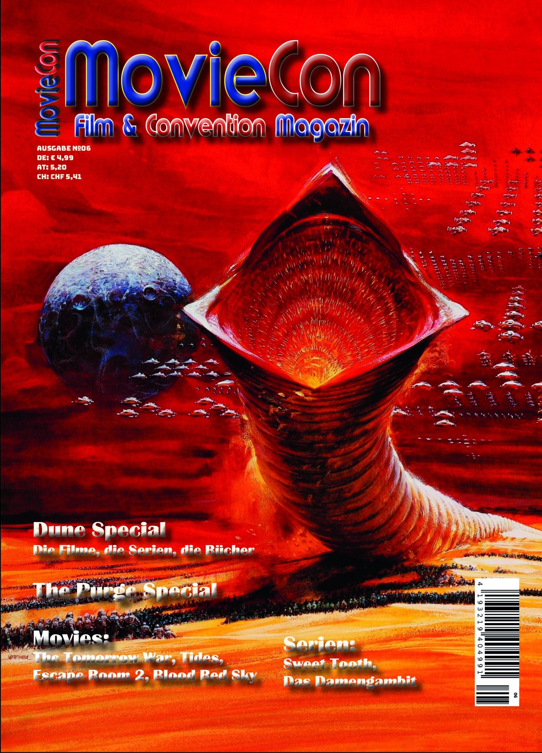 MovieCon- Film- & Convention Magazin Ausgabe 6/Print